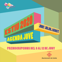 AGENDA JOVE ESTIU 2020